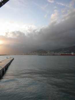 This photo was taken at the Marina In Genova, Italy.  It is northern, Italy on the Med. Sea.