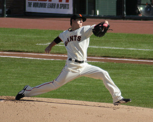 Defending Back to Back NL Cy Young Award Winner Tim Lincecum