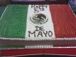 Cinco de Mayo Cake