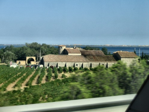 Driving Through France. Copyright Trish_M (Tricia Mason)