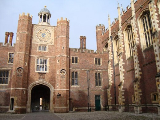 Tudor Hampton Court Palace