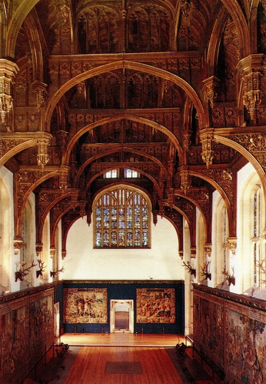 The Great Hall In Henry VIII's Apartments