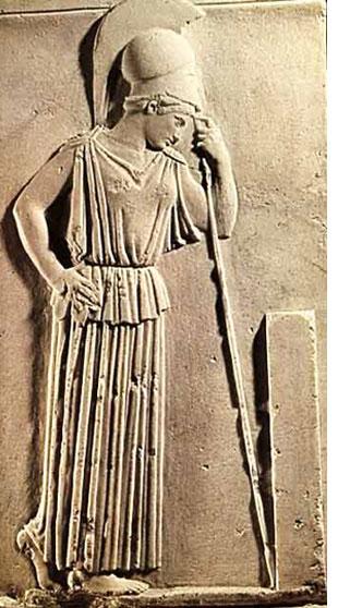 Athena. Image Credit: greek-islands.us