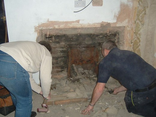 How To Remove A Fireplace From Your Home Hubpages