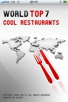 Cool Restaurants World Top 7 app for iphone