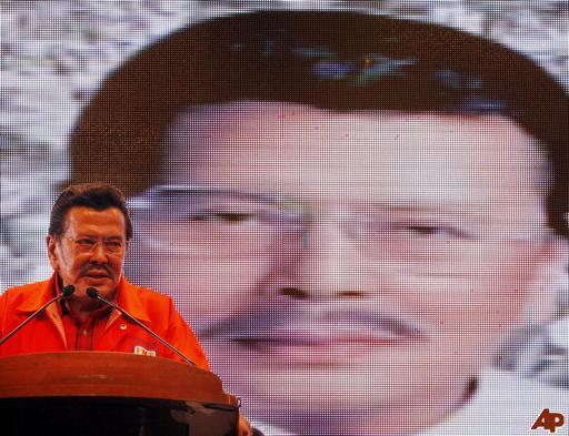 "Former President Joseph ""ERAP"" Estrada"