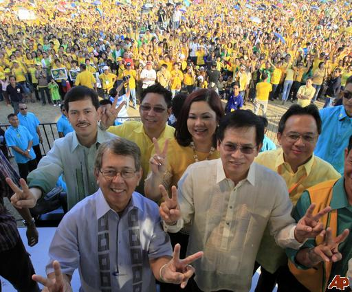 Some of the Presidential Candidates for National Eelections 2010 and supporters