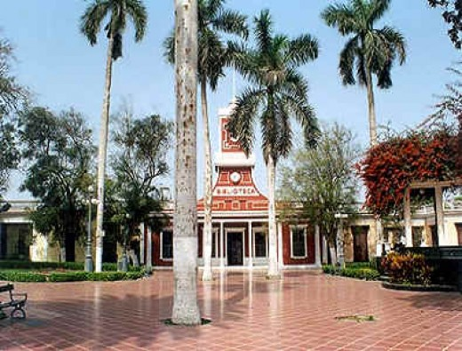 Municipal Park in Barranco