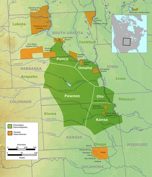 Pawnee land took up most of what would become Nebraska.