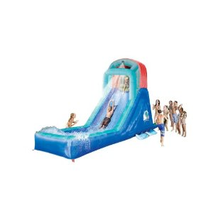 Banzai outdoor water slide