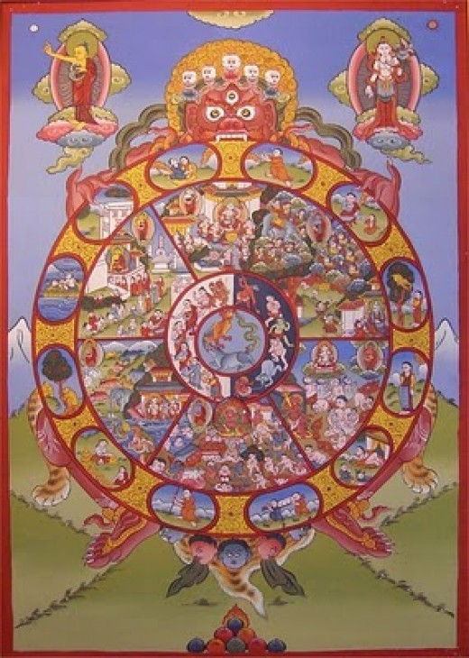 Tibetan Buddhists hold one idea of the origin of life, science another and various religious ideas, even more.