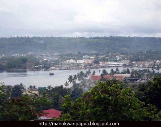 the capital of Papua Barat Province in the Republic of Indonesia