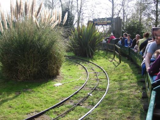 On the miniature railway