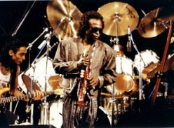 Miles playing at Nice Jazz Festival in 1989