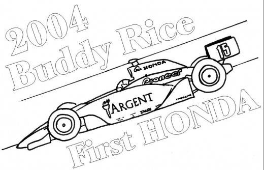 Classic Sport Cars Kids Coloring Pages with Free Colouring Pictures to Print