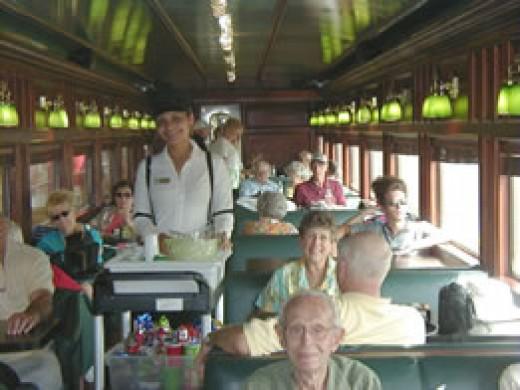 Panama Canal Rail Car