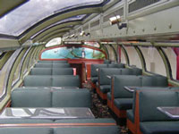 Panama Canal Dome Car