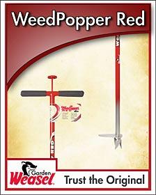 Garden Weasel Weed Popper Weeder Tool for super easy garden weeding