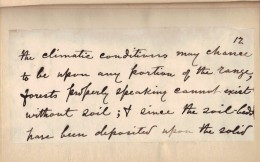 Muir's handwriting from manuscript edition