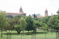 The Union Buildings loom over Pretoria. Photo Tony McGregor