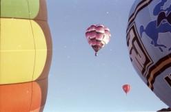 Hot air ballooning near Johannesburg. Photo Tony McGregor