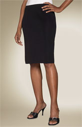 This is a pencil skirt. And the right length - on or just at the knees.
