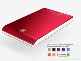 Seagate FreeAgent Go External Hard Drive 250GB