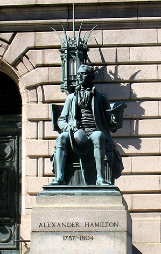 Alexander Hamilton Statue, Cleveland, Ohio
