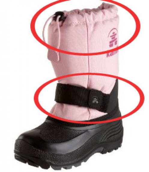 Top toddler snow boots from Kamik