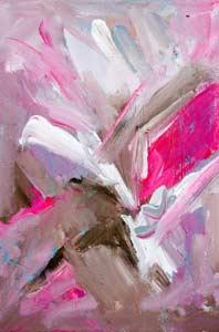 Dynamic Rose, Acrylic on Canvas, availble as a print through Zazzle