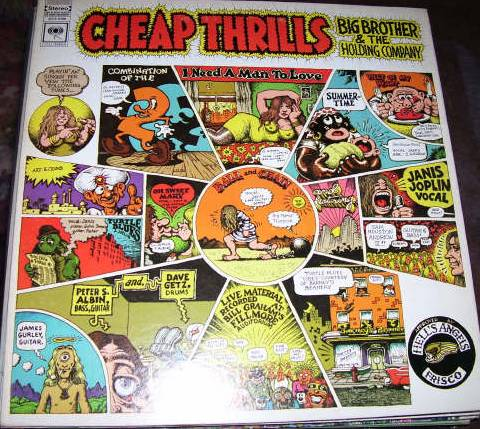 Janis-Cheap Thrills.