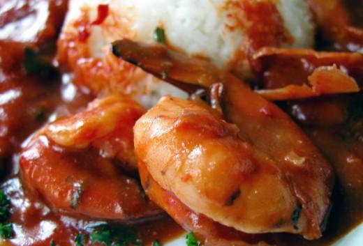 BBQ shrimp,clarita, morguefile.com