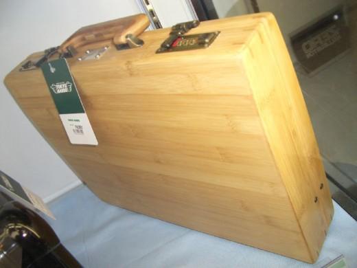 Laminated Bamboo Attache Case