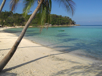 Than Sadet beach in Koh Phangan