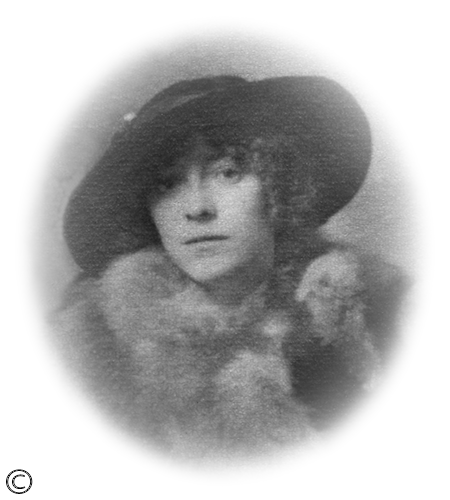 Mum on her wedding day in 1917! Happy Mother's Day mum!