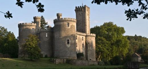 Chateau de Montbrun, thirty minutes from Les Trois Chenes
