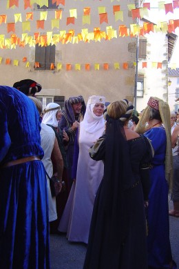 Rochechouart Medieval Festival. This year it is on the 14th August (2010).