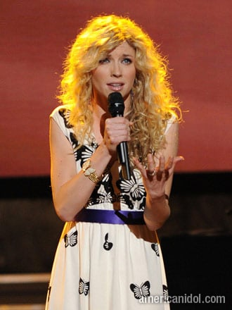 "Brooke White ""You Must Love Me"" American Idol"