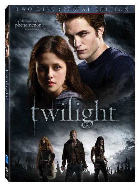 """Twilight"" DVD cover."