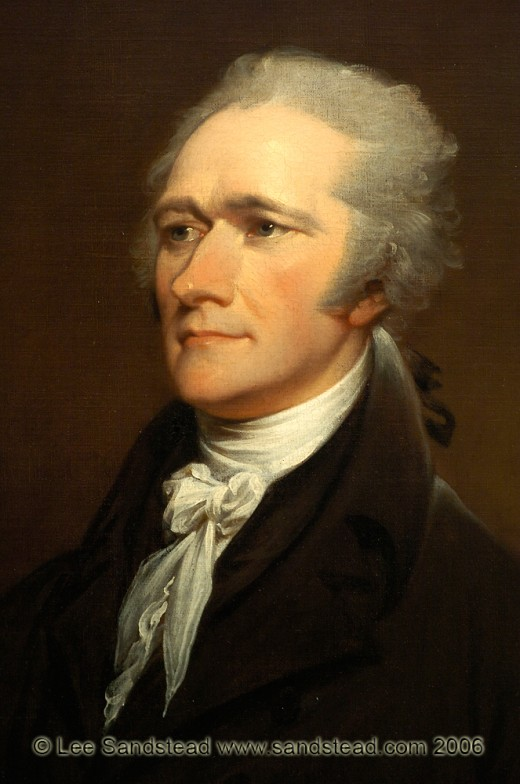 the establishment of the powers of the federal government by george washington alexander hamilton an Or section of alexander hamilton and general george washington to accept the nomination to that the federal government would hold one.