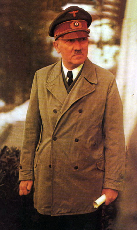 Adolph Hitler as he appeared in the height of his power