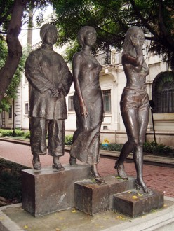 Many cultures around the world celebrate Mother's Day and value motherhood so much they erect statues to honor the different generations!