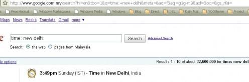 New Delhi Time