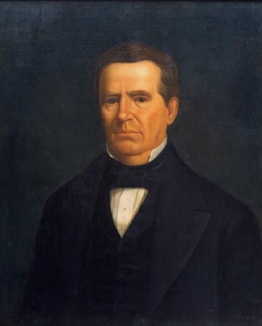 Dr. Anson Jones, 1798-1858, the last President of the Republic of Texas
