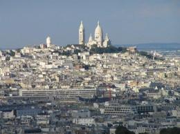 The Basilique du Sacre Coeur de Montmartre