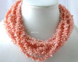 Beautiful Natural Coral branch necklace.  Photo courtesy of madeinchinashowroom.com