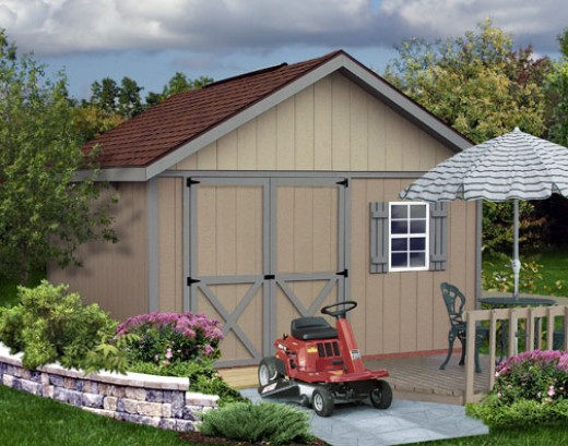 Build a storage shed plans declutter your home and garage for Declutter house plan