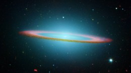 The Sombrero Galaxy in Infrared Light