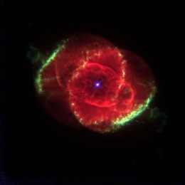 Planetary Nebula NGC 6543: Gaseous Cocoon Around a Dying Star