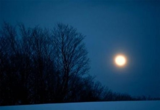 Cold moon, Long Night moon, Oak moon